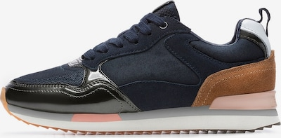 HOFF Sneaker 'FIFTH AVENUE' in dunkelblau / cognac / altrosa, Produktansicht