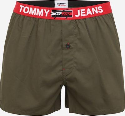 Boxeri Tommy Hilfiger Underwear pe albastru închis / oliv / roșu pepene / alb, Vizualizare produs