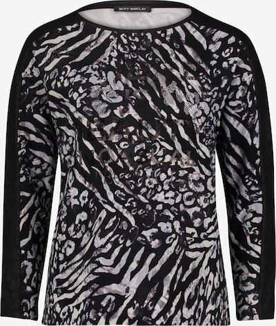 Betty Barclay Sweatshirt mit Animalprint in schwarz, Produktansicht