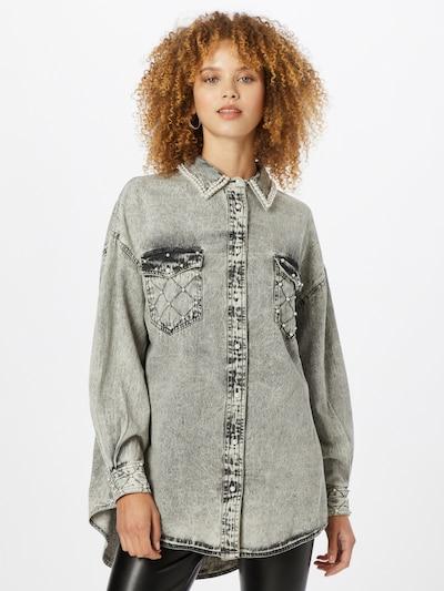 River Island Bluza u siva, Prikaz modela
