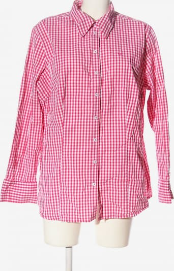 Via Appia Due Holzfällerhemd in 4XL in pink / weiß, Produktansicht