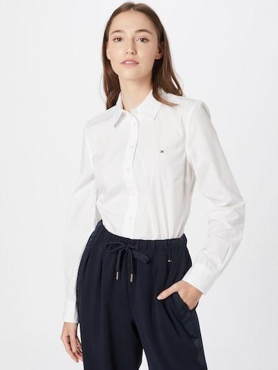 TOMMY HILFIGER Bluse in weiß, Modelansicht
