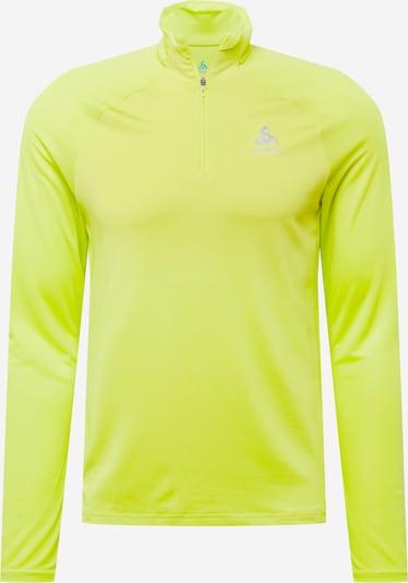 ODLO Funktionsshirt 'Essential' in grün / silber, Produktansicht