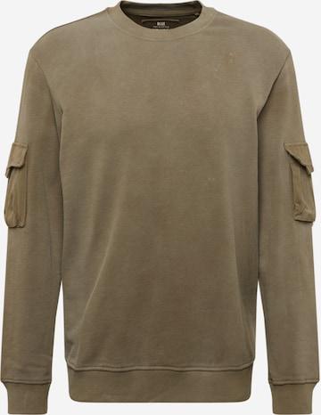 Only & Sons Sweatshirt 'Nino' in Grün