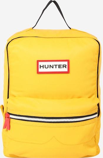 HUNTER Rugzak in de kleur Geel, Productweergave