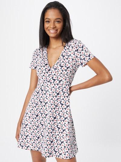 Rochie Tommy Jeans pe bleumarin / roz / alb, Vizualizare model