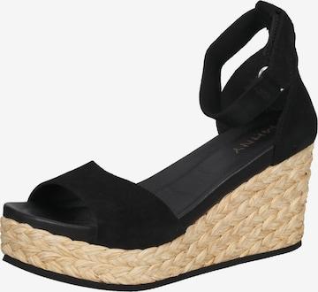 MAHONY Sandale in Schwarz