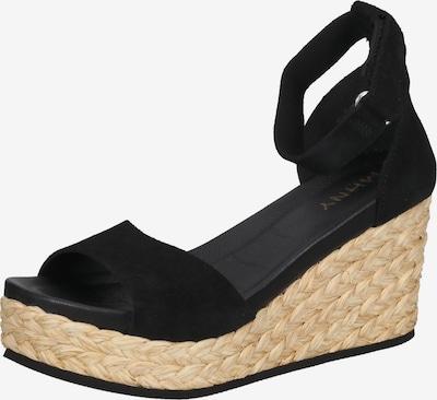 MAHONY Sandalen met riem in de kleur Beige / Zwart, Productweergave