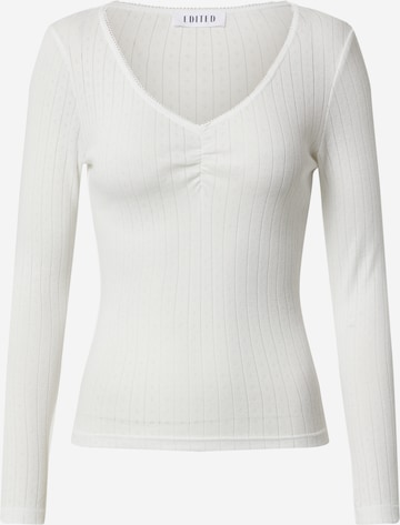 EDITED Skjorte 'Carolina' i hvit
