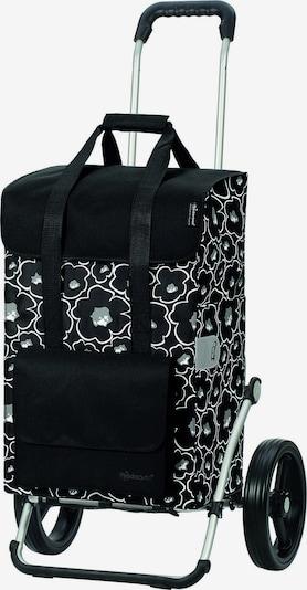 Andersen Shopper Reistas in de kleur Zwart / Wit, Productweergave