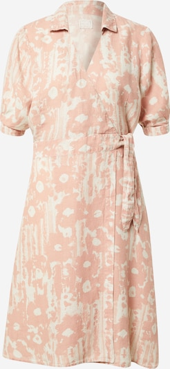 120% Lino Robe en rose pastel / blanc, Vue avec produit