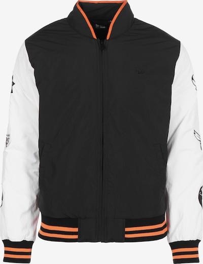 NEW ERA Tussenjas in de kleur Donkeroranje / Zwart / Wit, Productweergave