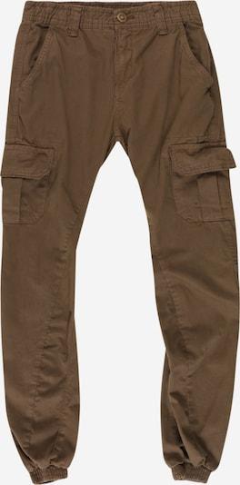 Urban Classics Kids Pantalon en kaki, Vue avec produit