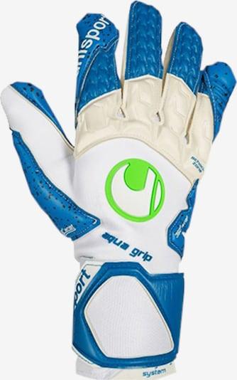 UHLSPORT Handschuh in blau / weiß, Produktansicht