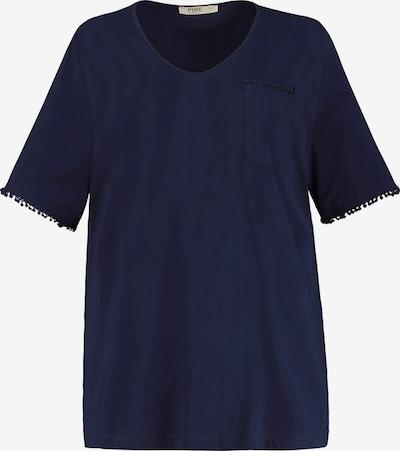 Ulla Popken Shirt in nachtblau: Frontalansicht