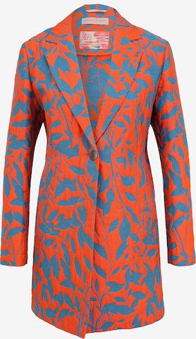 Frieda & Freddies NY Mantel mit Allover-Muster in Orange