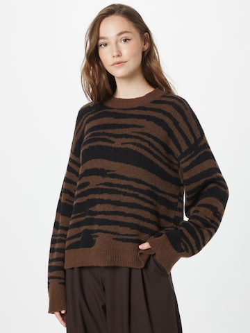 NUÉ NOTES Sweater 'VALENCE' in Brown
