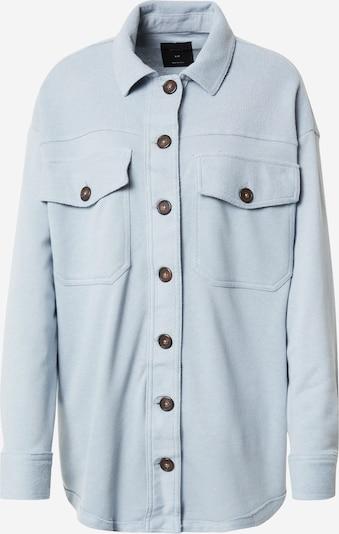 Cotton On Bluse 'THE KNIT SHACKET' in blue denim, Produktansicht