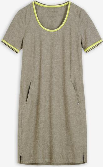 Sandwich Kleid in gelb / oliv, Produktansicht