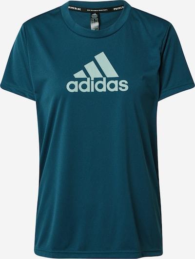 ADIDAS PERFORMANCE T-shirt fonctionnel en azur / bleu ciel, Vue avec produit