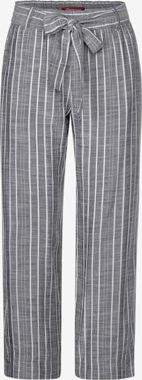 STREET ONE Pantalon en gris / blanc naturel, Vue avec produit