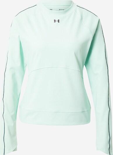 UNDER ARMOUR Athletic Sweatshirt in Mint / Black, Item view