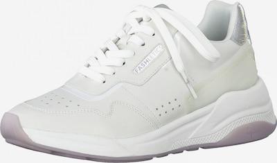 Sneaker low TAMARIS pe argintiu / alb natural, Vizualizare produs