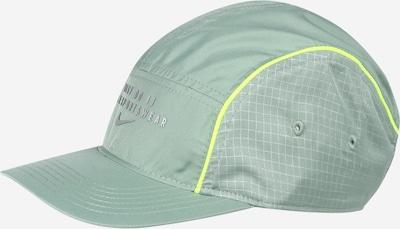 Nike Sportswear Casquette en menthe / vert fluo / blanc, Vue avec produit