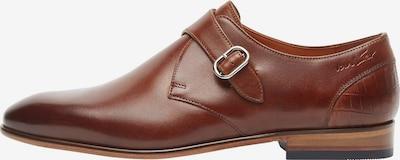 Van Lier Chaussure à lacets en marron, Vue avec produit