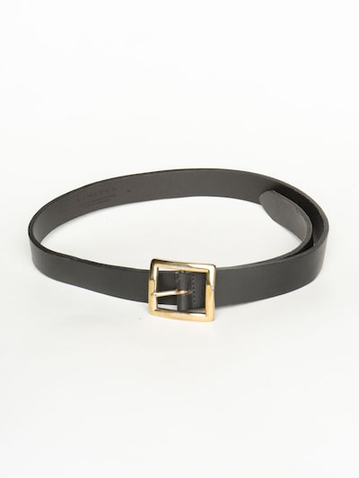 Limited Ledergürtel in 28 in schwarz, Produktansicht