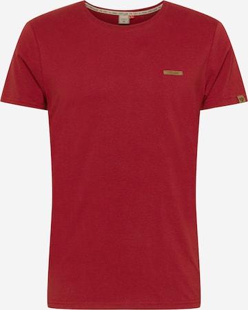 T-Shirt 'GRADY' Ragwear en rouge