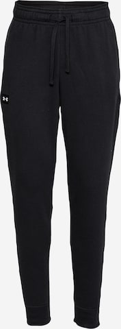 UNDER ARMOUR Workout Pants 'Rival' in Black