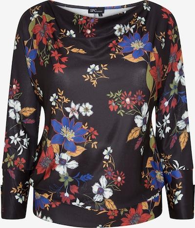 SPGWOMAN Pullover in schwarz / weiß, Produktansicht