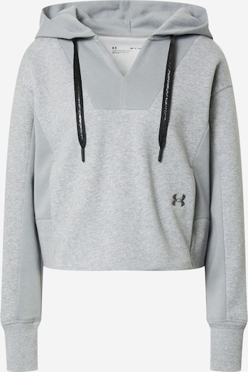 UNDER ARMOUR Pullover 'Rival' in grau, Produktansicht