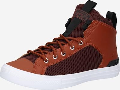 CONVERSE Sneaker in rostbraun / weinrot / schwarz, Produktansicht