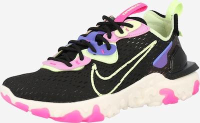 Nike Sportswear Sneaker 'React Vision' in royalblau / neongelb / dunkellila / rosé / schwarz, Produktansicht