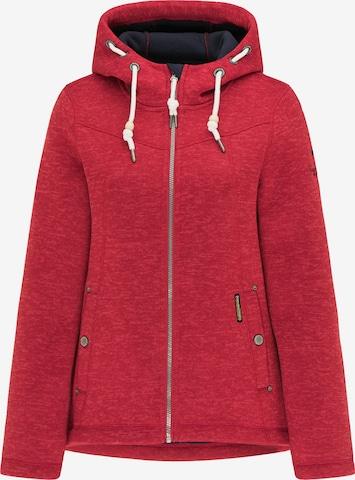 Schmuddelwedda Fleece Jacket in Red