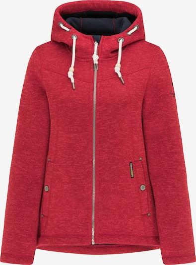 Schmuddelwedda Outdoorjas in de kleur Donkerrood / Wit, Productweergave