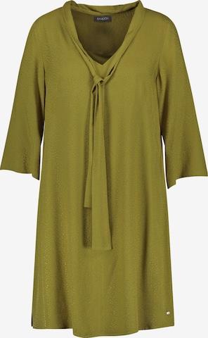 SAMOON A-Linien-Kleid in Grün
