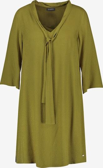 SAMOON A-Linien-Kleid in grün, Produktansicht