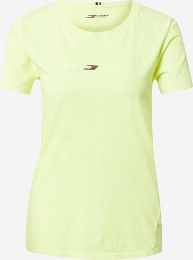 Tommy Sport Funktionsshirt in nachtblau / kiwi / rot, Produktansicht