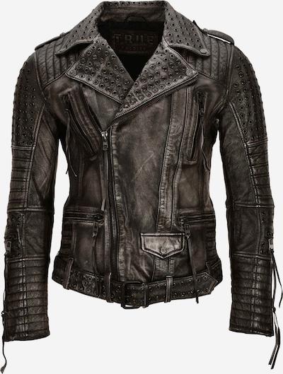 trueprodigy Lederjacke 'Geralt' in schwarz, Produktansicht