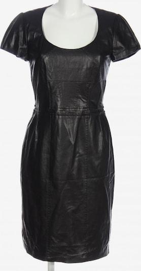 Barbara Schwarzer Kunstlederkleid in S in schwarz, Produktansicht