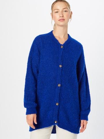 AMERICAN VINTAGE Knit Cardigan 'Verywood' in Blue
