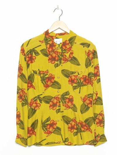 OTTO KERN Blumenbluse in M-L in oliv, Produktansicht