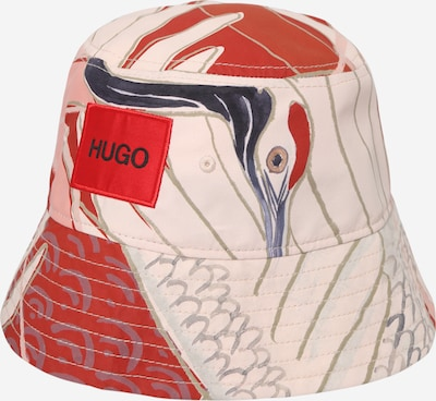 HUGO Chapeaux en beige / opal / bleu foncé / greige / rouge, Vue avec produit