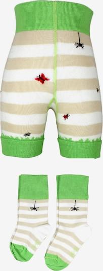 ROGO Set 'Leggings & 2 Söckchen' in Beige / Green / Mixed colors, Item view