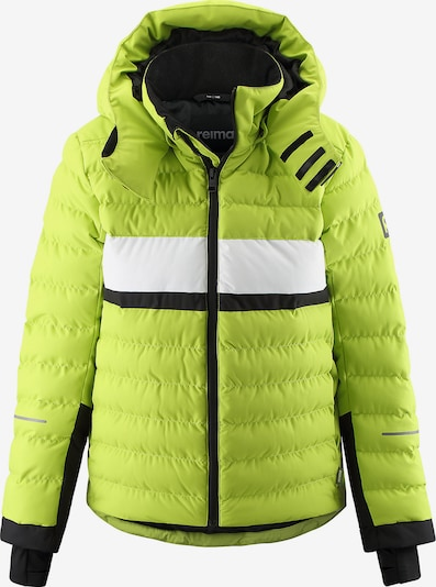 Reima Winterjacke 'Alkhornet' in apfel / schwarz / weiß, Produktansicht