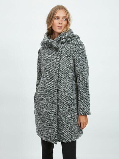 VILA Mantel in grau, Modelansicht