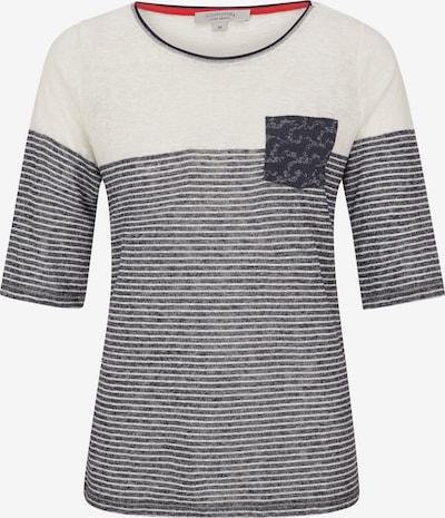 Ci comma casual identity T-Shirt mit Schmuckperlen in beige, Produktansicht